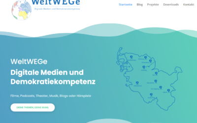 WeltWEGe Homepage gestartet!