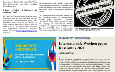 WeltWEGe Zeitung #2 veröffentlicht !